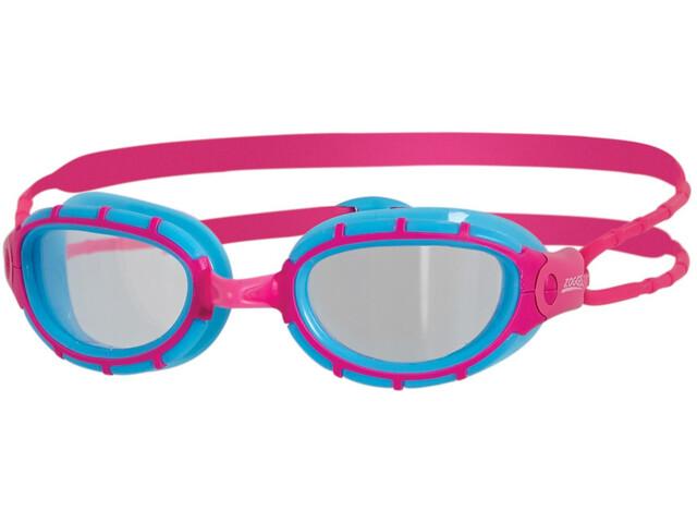 Zoggs Predator Goggle Junior Light Blue/Pink/Tint